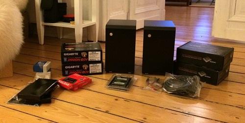 PC-Teile für Crawler